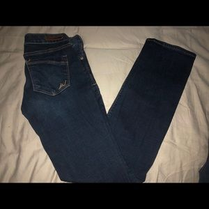 Express barely boot jeans regular size 0